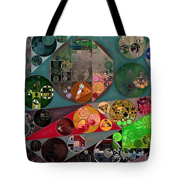 Abstract Painting - Chicago Tote Bag