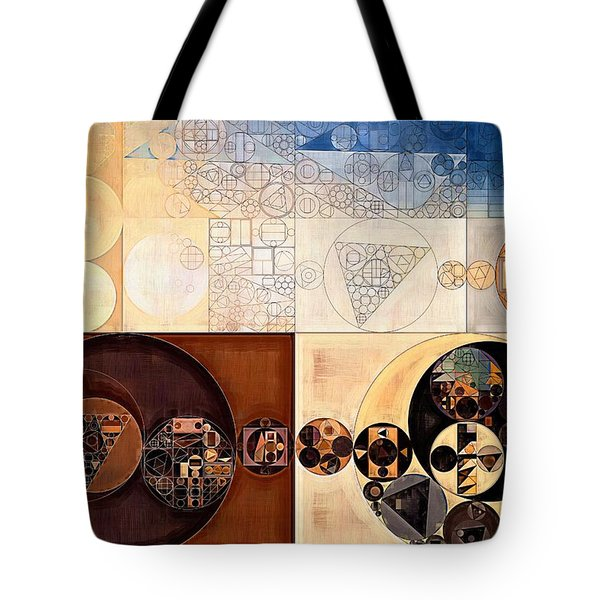 Abstract Painting - Dairy Cream Tote Bag
