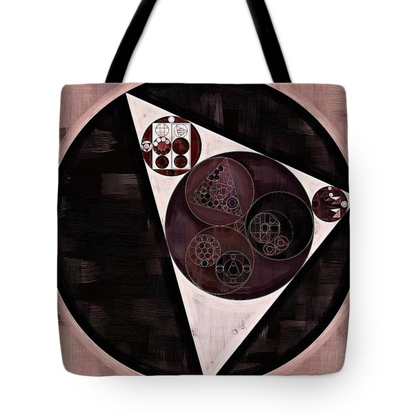 Abstract Painting - Dust Storm Tote Bag by Vitaliy Gladkiy