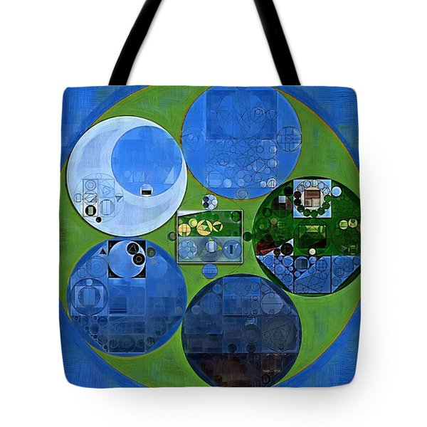 Abstract Painting - Everglade Tote Bag by Vitaliy Gladkiy