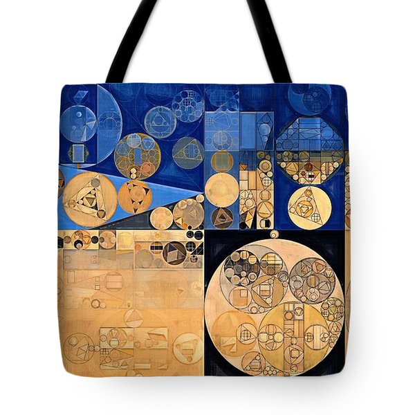 Tote Bag featuring the digital art Abstract Painting - Fawn by Vitaliy Gladkiy