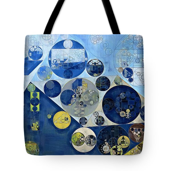 Abstract Painting - Kashmir Blue Tote Bag
