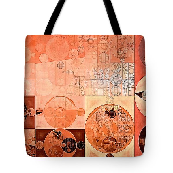 Abstract Painting - Mandys Pink Tote Bag by Vitaliy Gladkiy