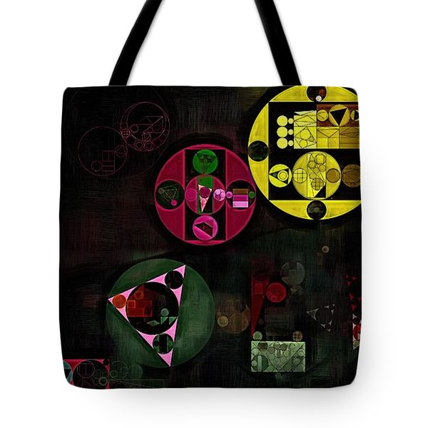 Abstract Painting - Metallic Gold Tote Bag by Vitaliy Gladkiy