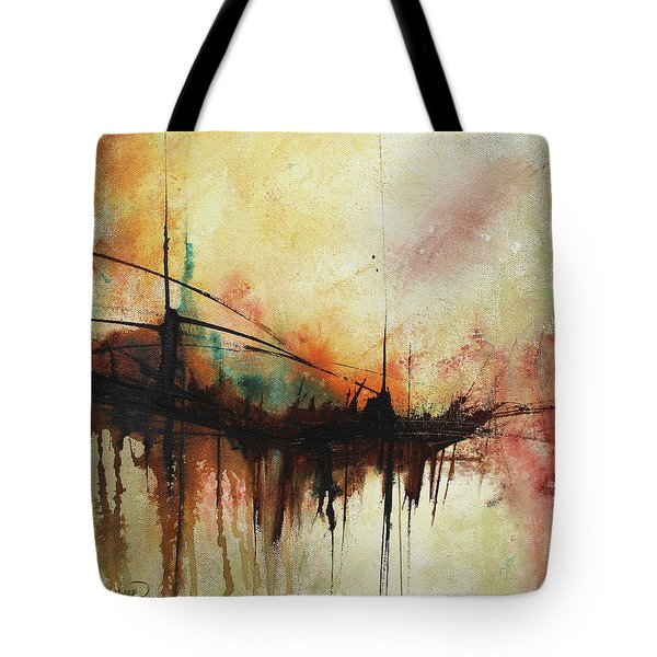 Abstract Painting Contemporary Art Tote Bag
