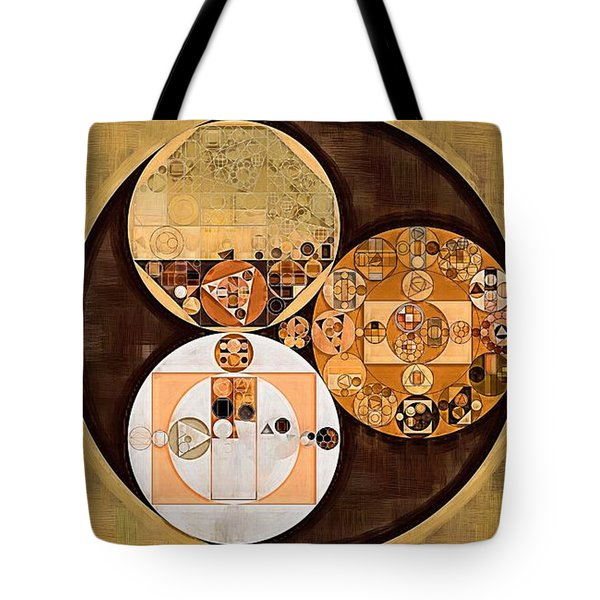 Abstract Painting - New Tan Tote Bag by Vitaliy Gladkiy