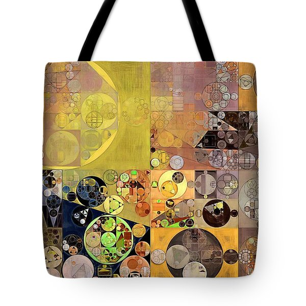 Abstract Painting - Pale Brown Tote Bag by Vitaliy Gladkiy