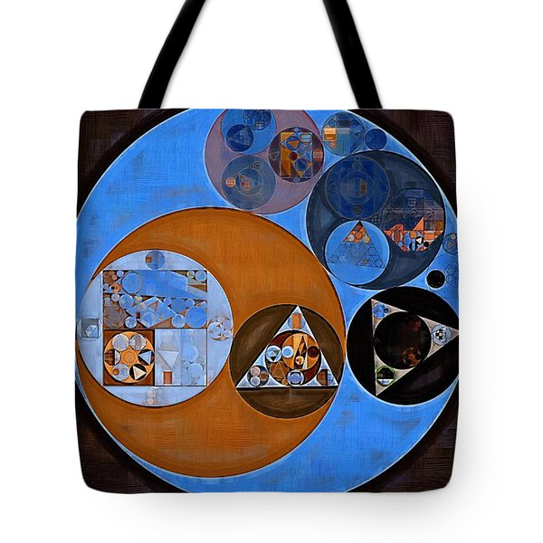 Abstract Painting - Rock Blue Tote Bag