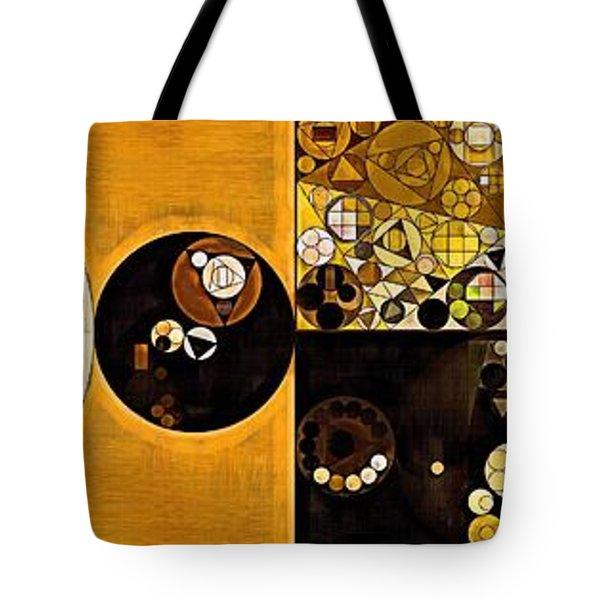 Abstract Painting - Sahara Tote Bag