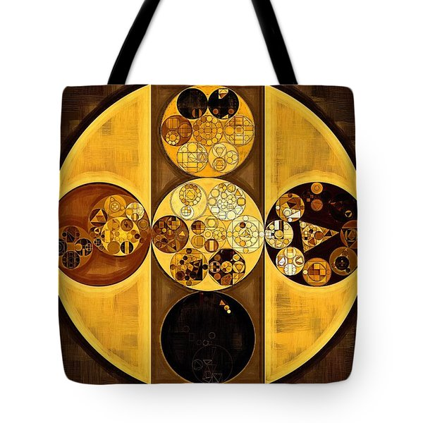 Abstract Painting - Sepia Tote Bag by Vitaliy Gladkiy
