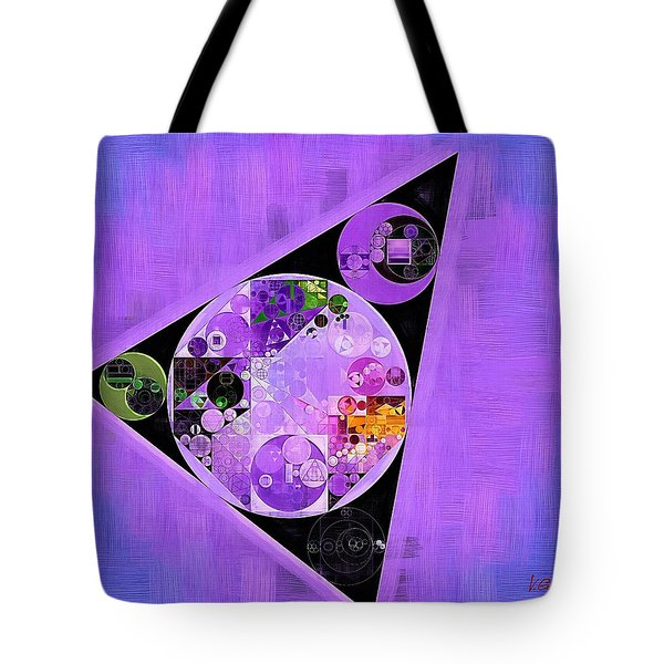 Tote Bag featuring the digital art Abstract Painting - Slate Blue by Vitaliy Gladkiy