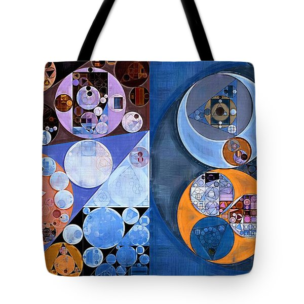 Abstract Painting - St Tropaz Tote Bag