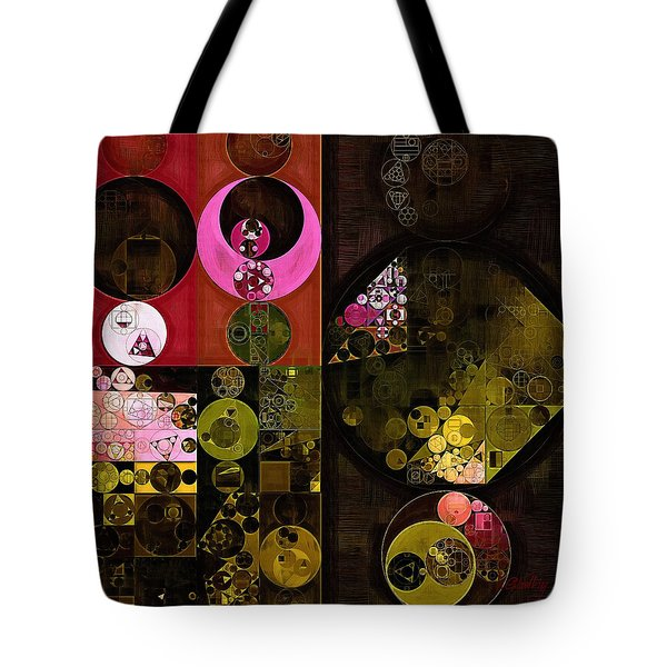 Abstract Painting - Tonys Pink Tote Bag by Vitaliy Gladkiy