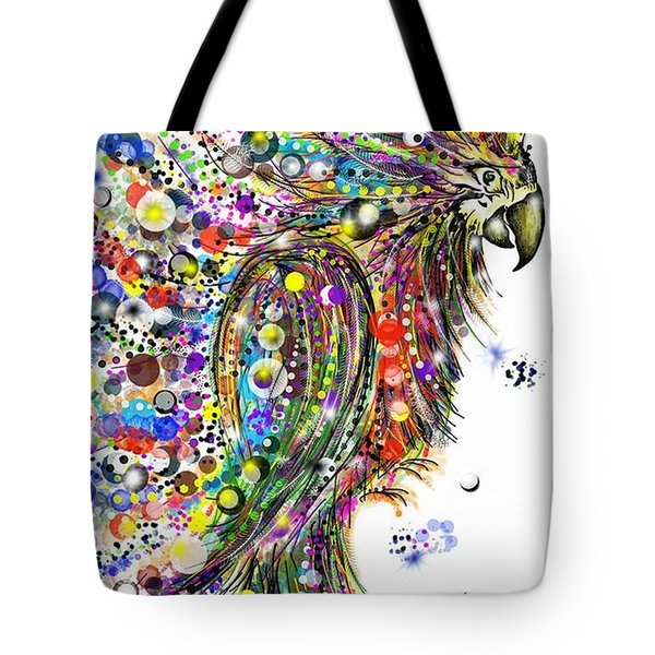 Abstract Parrot Tote Bag