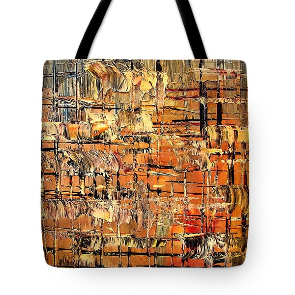Abstract Part By Rafi Talby Tote Bag by Rafi Talby