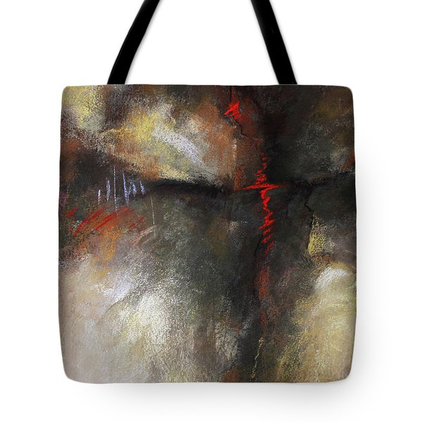 Abstract Pastel 1 Tote Bag by Patricia Lintner