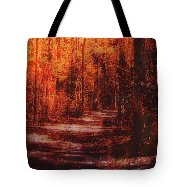 Abstract Path Tote Bag