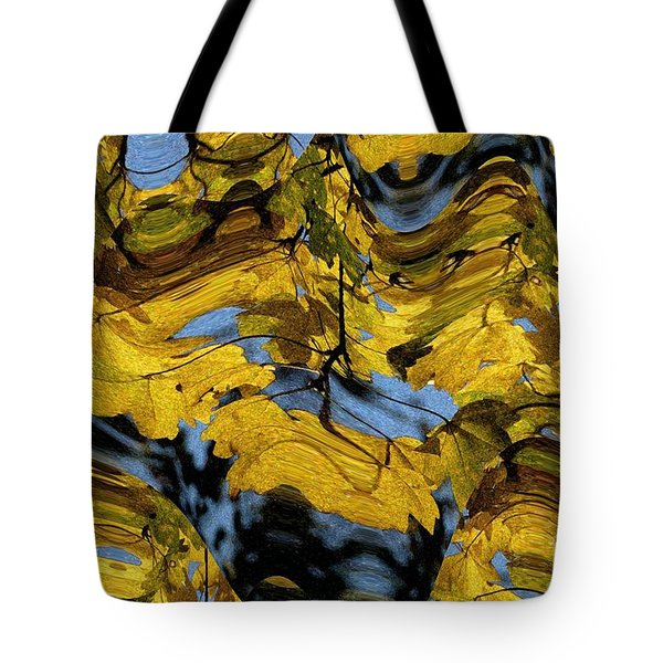 Abstract Pattern 4 Tote Bag by Jean Bernard Roussilhe