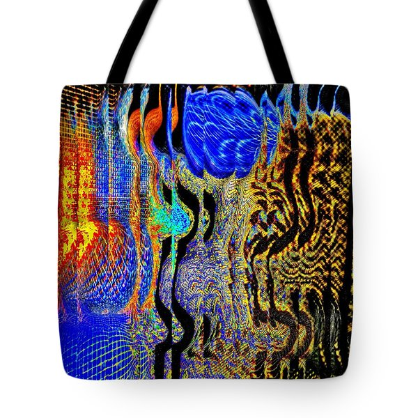 Tote Bag featuring the photograph Abstract Photography 001-16 by Mimulux patricia no No