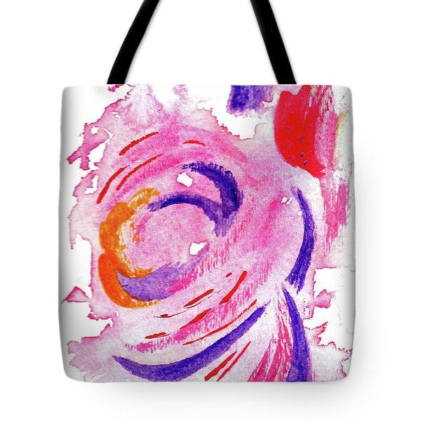 Abstract Pink Tote Bag