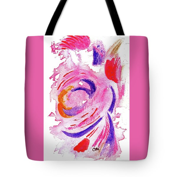 Abstract Pink Tote Bag