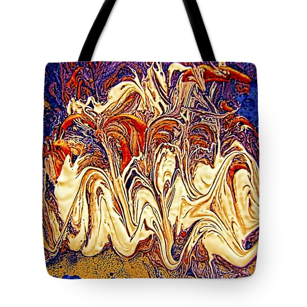 Abstract Digital Art #1 Photography Tote Bag by Renee Anderson