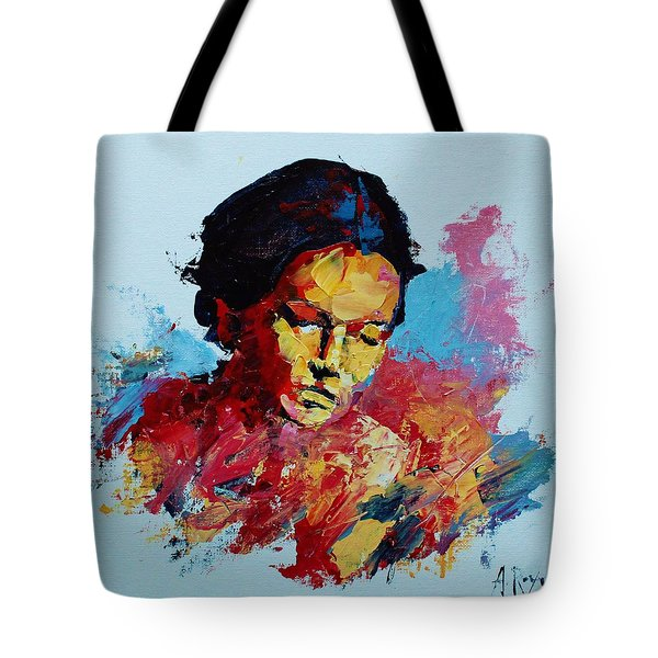 Abstract Portrait Tote Bag