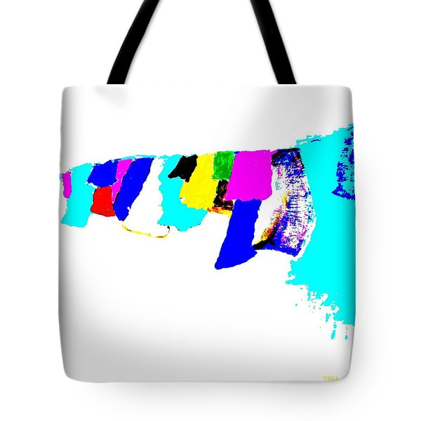 Abstract Prayers Tote Bag by VIVA Anderson