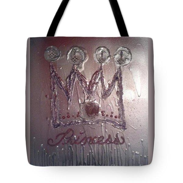 Abstract Princess Dreams Of Grandeur Tote Bag