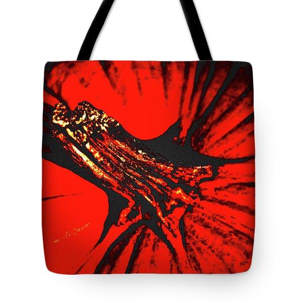 Abstract Pumpkin Stem Tote Bag