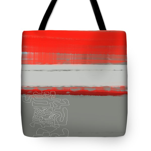 Abstract Red 1 Tote Bag