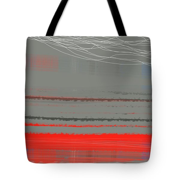 Abstract Red 2 Tote Bag