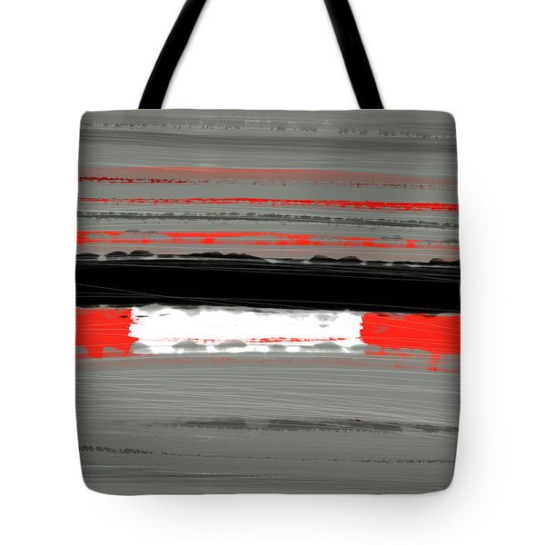 Abstract Red 4 Tote Bag