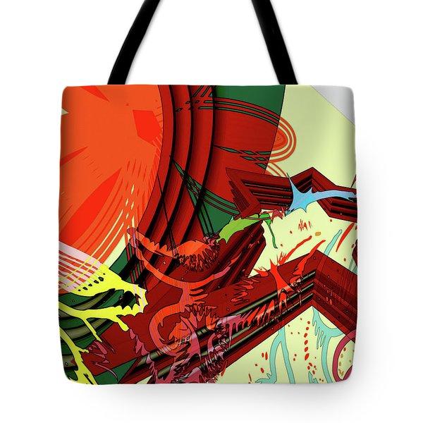 Abstract Rhetoric Tote Bag