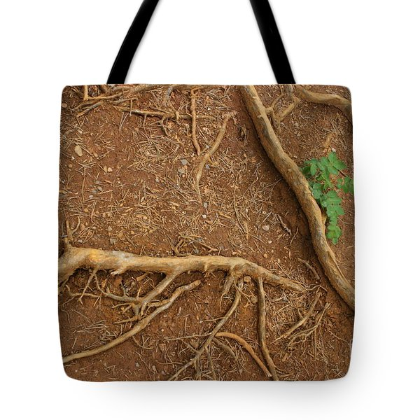 Abstract Roots Tote Bag