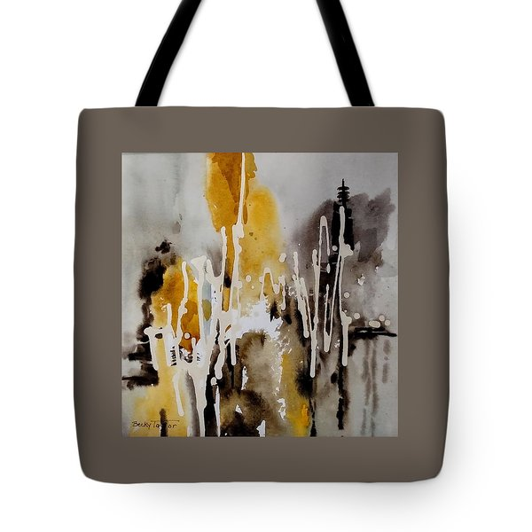 Abstract Scene Tote Bag