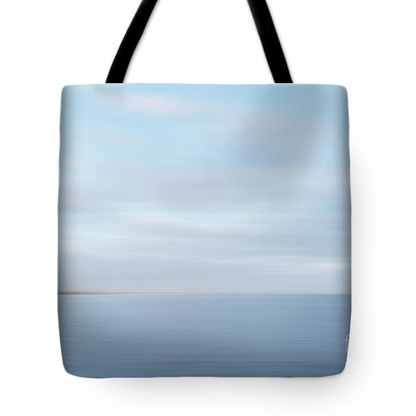 Tote Bag featuring the photograph Abstract Seascape by Ivy Ho