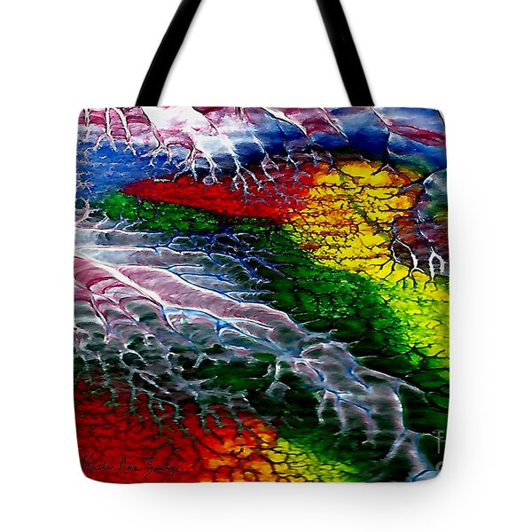 Abstract Series 0615a Tote Bag