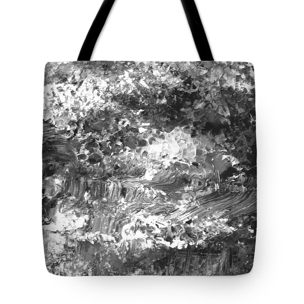 Tote Bag featuring the painting Abstract Series 070815 A3 by Mas Art Studio