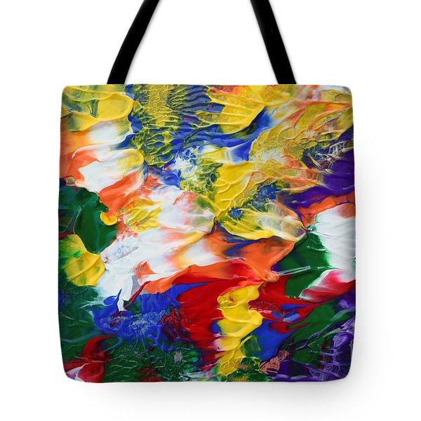 Abstract Series A1015al Tote Bag