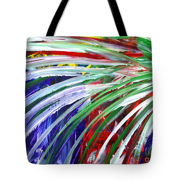 Abstract Series C1015bl Tote Bag