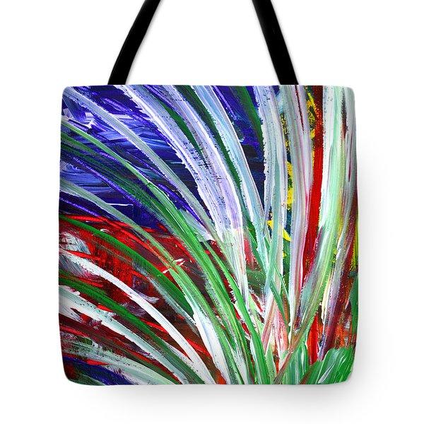 Abstract Series C1015bp Tote Bag