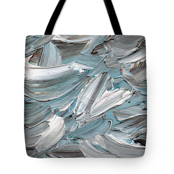 Tote Bag featuring the painting Abstract Series D010816 by Mas Art Studio