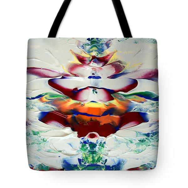 Abstract Series H1015al Tote Bag