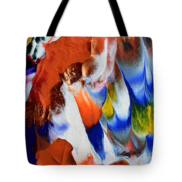 Abstract Series N1015bp Copy Tote Bag