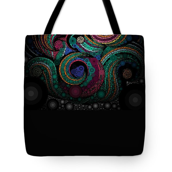 Tote Bag featuring the pastel Abstract by Sheila Mcdonald