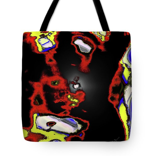 Abstract Shell Creature Tote Bag by Gina O'Brien