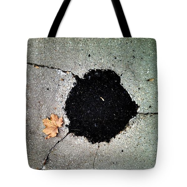 Abstract Sidewalk Tote Bag