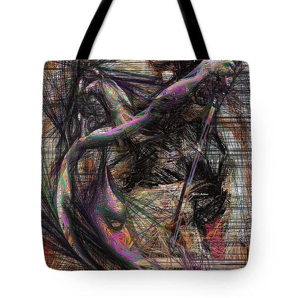 Abstract Sketch 1334 Tote Bag