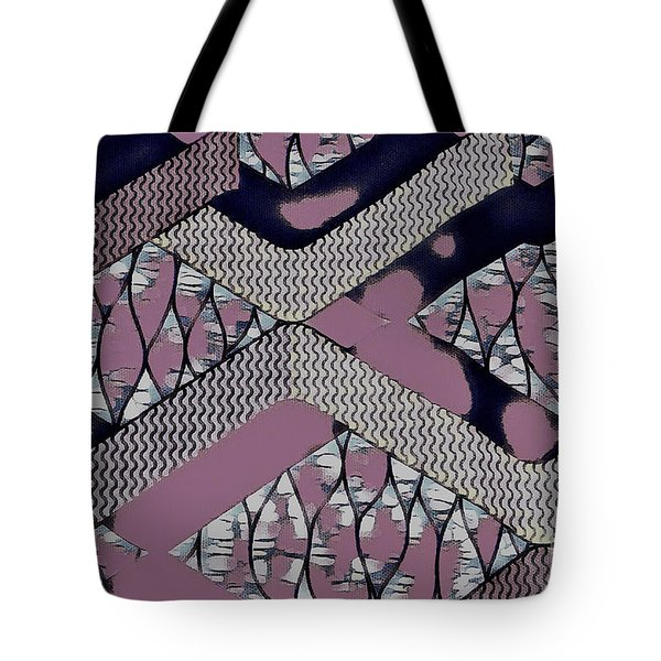 Abstract Slates Tote Bag